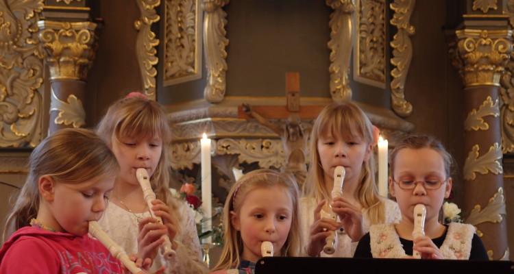 Flötenunterricht in der Musikerfabrik