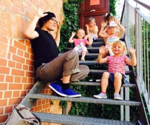 Kindermusikschule auf der Tonleiter