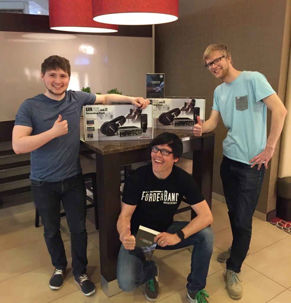 Steinberg unterstützt mit Hardware und Cubase das SongwriterCamp