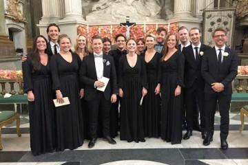 "Daniel Stenbaeks Chor ""By Grace"" und Samuel Ljungblahd als Solist"