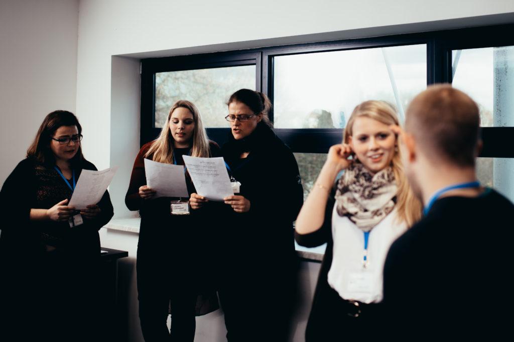 Singen in der Musikerfabrik Hannover