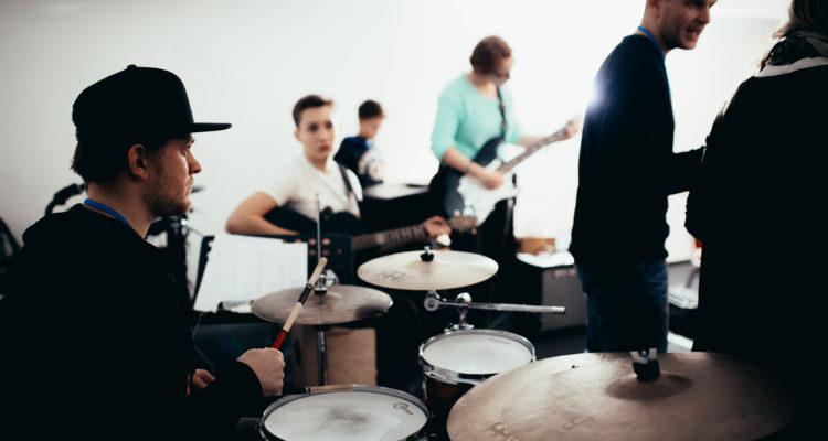 Bandcoaching beim FörderBand der Musikerfabrik Hannover