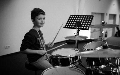 Schlagzeugunterricht in Hannover beim FörderBand der Musikerfabrik