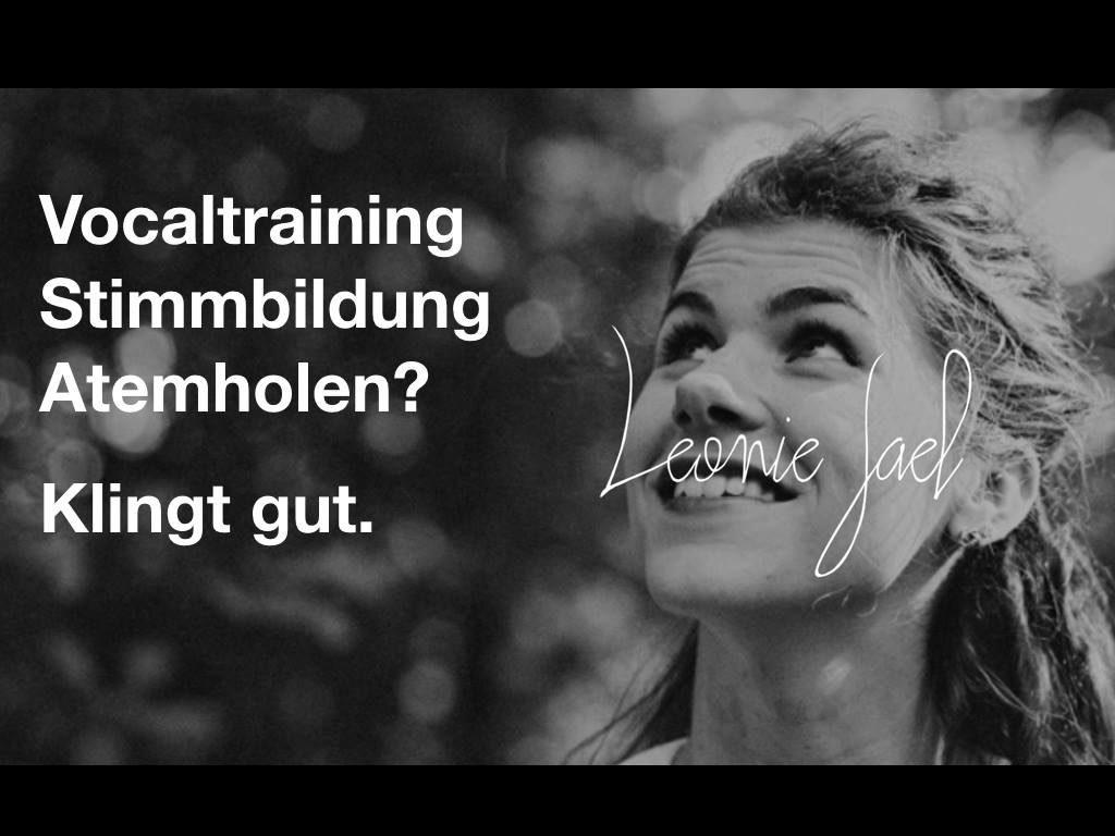 Stimmbildung Vocalcoaching