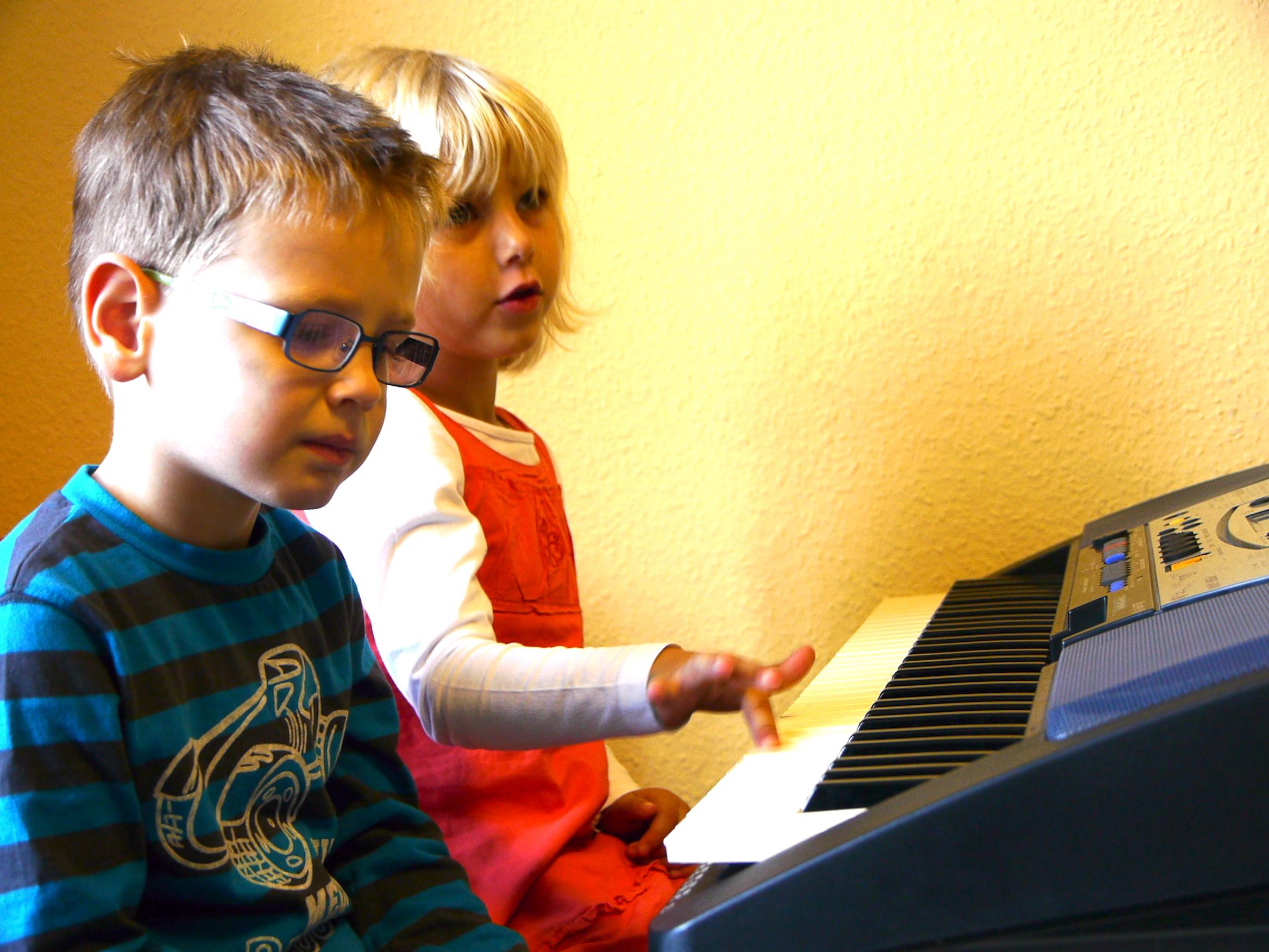Klavierunterricht für Kinder