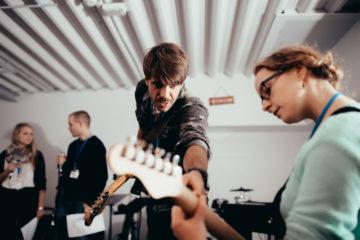 E-Gitarren Solo spielen