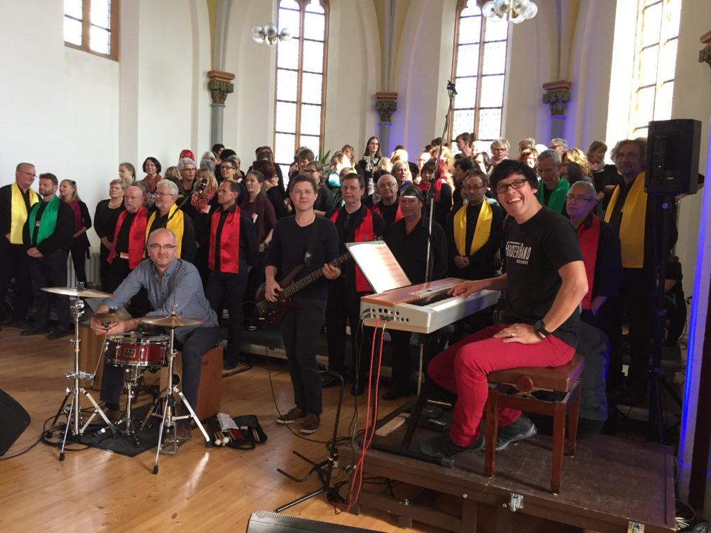 Gospelsingen in Wolmirstedt mit Darius Rossol