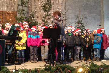 Musikschule Musikerfabrik beim Stendaler Weihnachtsmarkt
